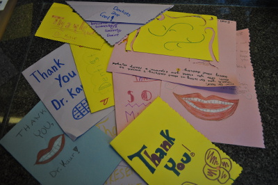 Children Or Kids Or Pediatric Dentist Thank You Cards